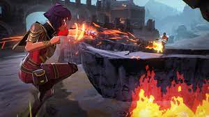 Spell break battle game for ps